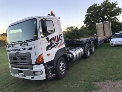 Heavy haulage and towing