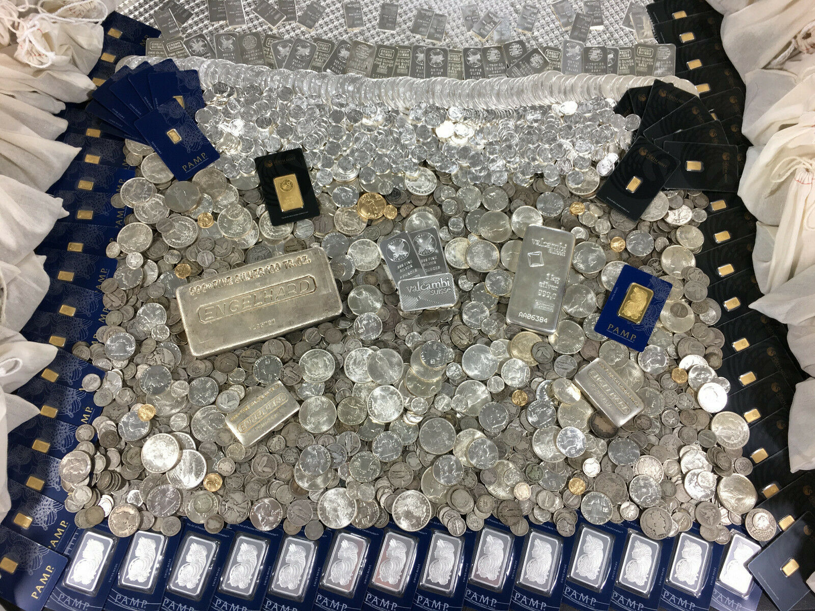 ESTATE COIN LOT SALE-OLD  GOLD BULLION .999 SILVER TREASURE COLLECTION HOARD