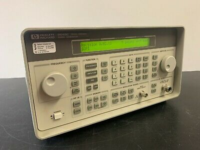 Hewlett Packard 8648c Synthesized Rf Signal Generator Options 1e5 And 1ea