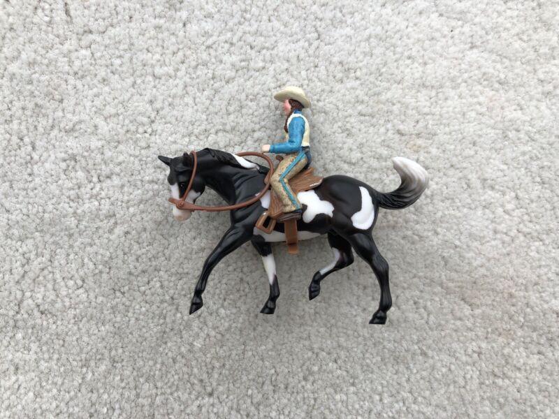 Breyer Horse Stablemate #5315 Annie Oakley Play Set Appaloosa G2 Rider Saddle