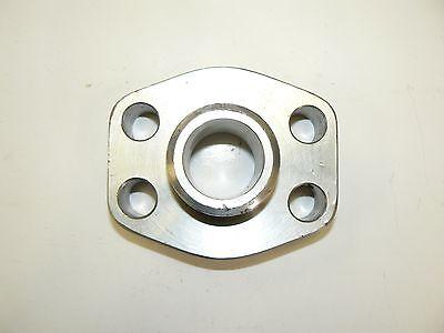 1 12 Sch 80 Stainless Steel Weld Neck Flange