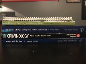 Police Foundations Text Books (Humber)