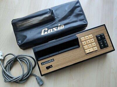 Casio As-a Nixie Tubes Display Sehr Selten Tischrechner Defekt