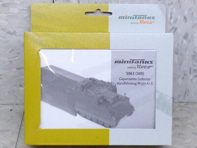 Roco Minitanks (NEW) 1/87 Modern US M-577 A1 G Mobile Command APC Lot 271X for sale  Shipping to India