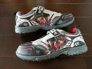 Bakugan shoes size 3 for boy (Brand New)