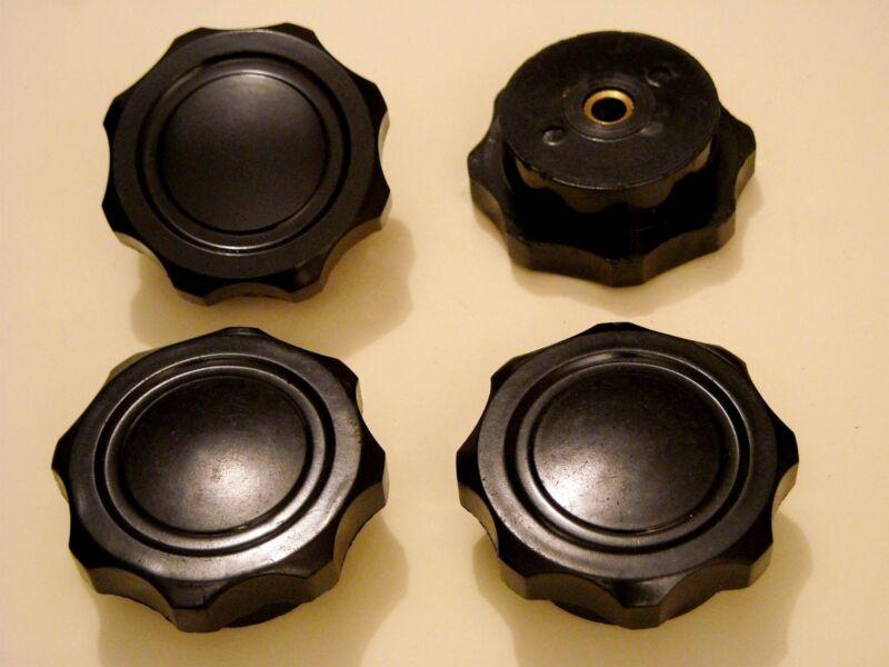 4pcs 6mm knobs for vintage radio