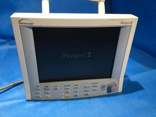 Datascope Passport 2 Masimo Patient Monitor   SpO2, ECG, Printer