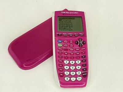 Texas Instruments Ti-84 Plus C Silver Edition Pink Graphing Calculator