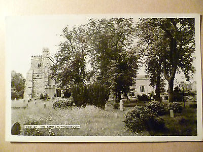 Vintage Religious Postcard- THE CGURCH, WADDESDON, WDD.2F
