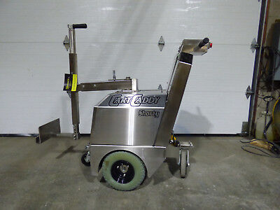 Cart Caddy Shorty Stainless Steel Sharp