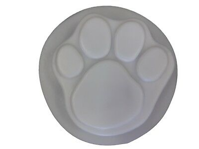 7 Inch Dog Cat Paw Concrete Footprint Stepping Stone Mold 1018 Moldcreations ()