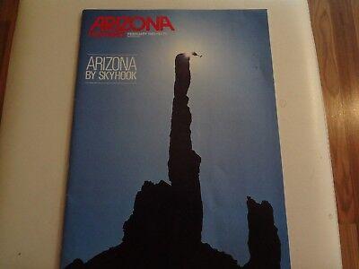 Arizona Highways, February 1985, Arizona By Sky Hook