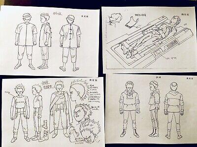 AKIRA Settei Japanese Animation Production  Character Settei Copy 174 Sheets