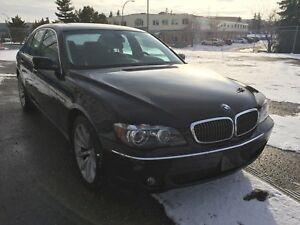 2007 BMW 750i, low kms, beautiful vehicle!