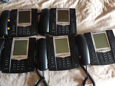 Lot Of 5 Aastra 6737i Voip Gigabit Business Desktop Phone Phones