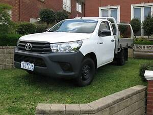 2016 Toyota Hilux Ute Viewbank Banyule Area Preview