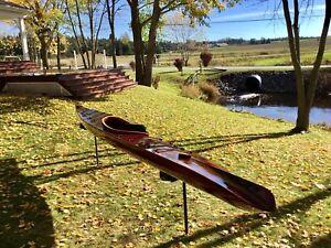 Kayak de mer 17' en cedre (Prix reduit de $600)