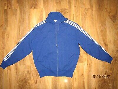 Vintage Adidas blue Beckenbauer Track Made In West Germany  georg schwahn size 4