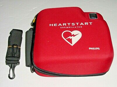 Philips M3860a Heartstart Fr2 Aed With 2025-10 Battery New Pads Case Straps