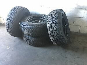4WD tyres with Sunraysia rims, 31 10.50 R15 Cranbourne East Casey Area Preview