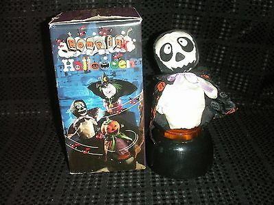 Halloween Vintage Rompin Halloween Skeleton (dances with music & laughing)