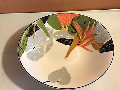 Sango Maui oval Cereal bowl,Bird Of Paradise
