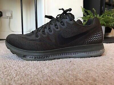 Nike Zoom All Out Running Trainers Shoes Uk 9 Euro 44 Olive Green Air Bubble