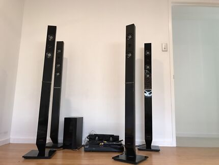 Samsung home theater system blu ray 3D wireless