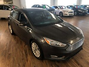 2018 Ford Focus Titanium 2.0L Sun Roof, Leather, Remote Starter,