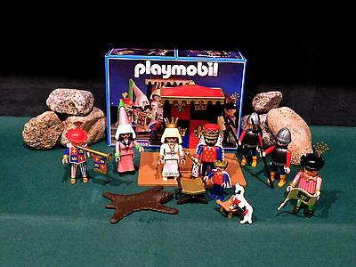 Playmobil ***Rarität*** König/Hofstaat/Thron 3659-A/1993 II mit OVP!
