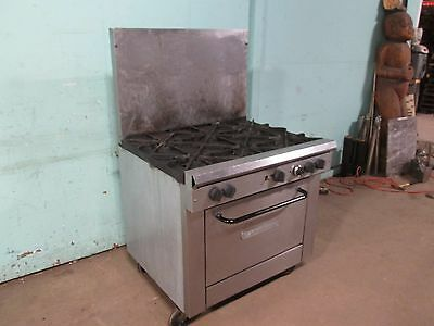 Southbend X336d Commercial Heavy Duty Nsf Natural Gas 6 Burners Stove Woven