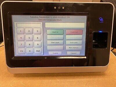 Paychex Px3500 Biometric Fingerprint Time Clock