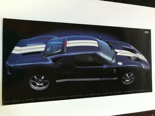 2004 FORD GT POSTER
