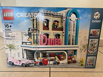 LEGO 10260 Creator Expert Downtown Diner NEW & (Sealed) MIB