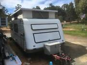 Roadster 17.5 ft. pop top caravan . Stoneville Mundaring Area Preview