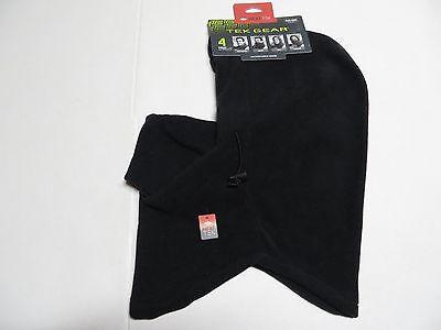 Tek Gear Microfleece Hood, 4 in One, Heat Tek,  One Size, Black Nwts Heatgear Hood