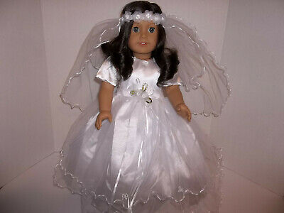 Modern First Communion Dresses (First Communion Dress and Veil made for 18
