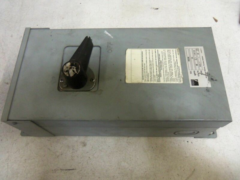 FEDERAL PIONEER R5336 DISCONNECT SWITCH *USED*