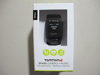 TomTom Spark Music Plus Cardio GPS Watch Black Small