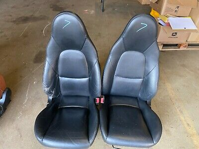 Mazda Mx5 Set of Black Leather Seats   ------( 7 )