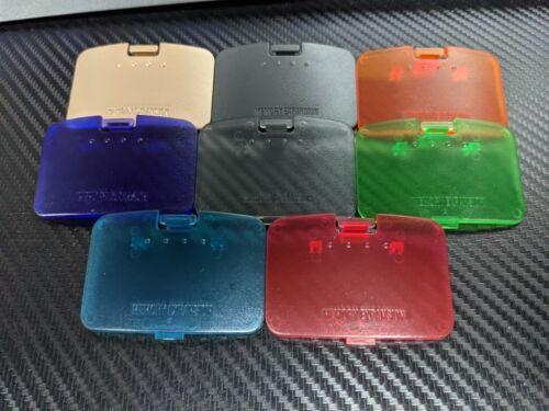 Jumper Pack Lid Nintendo 64 N64 Pak Expansion Cover Door Memory Replacement