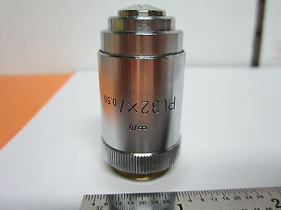 Microscope Objective Leitz Wetzlar Pl 32x Optics Binb3-d-7