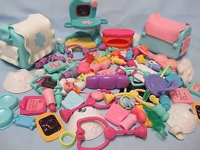 For sale Littlest Pet Shop Lot DOCTOR Accessories 15 RANDOM Vet Hospital 100% Authentic