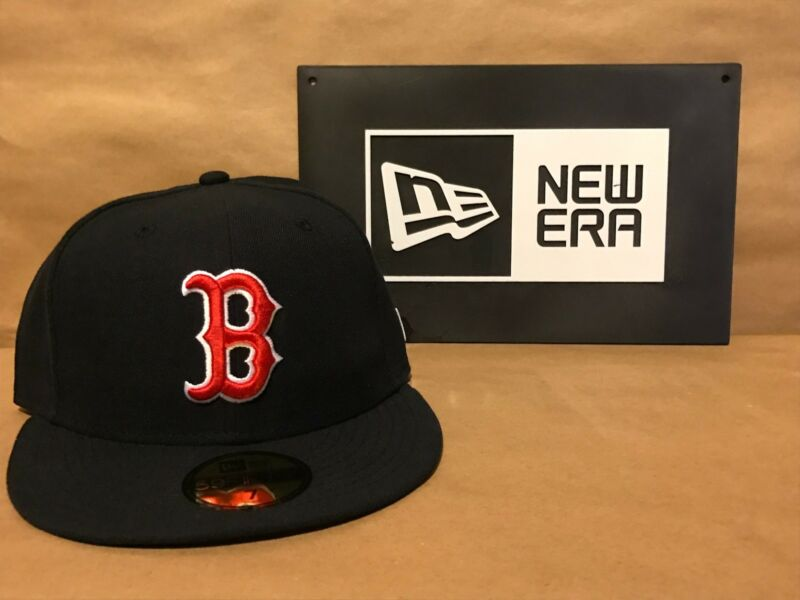 Boston Red Sox Game Home New Era 59FIFTY Fitted Caps MLB AC On Field Hat 2017