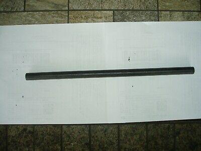58 Diameter X 14 Long Black Delrin Acetal Rod