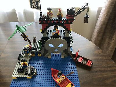 "Vintage Pirates Lego Set 6279 ""Skull Island"" Complete w. Box & Instructions"