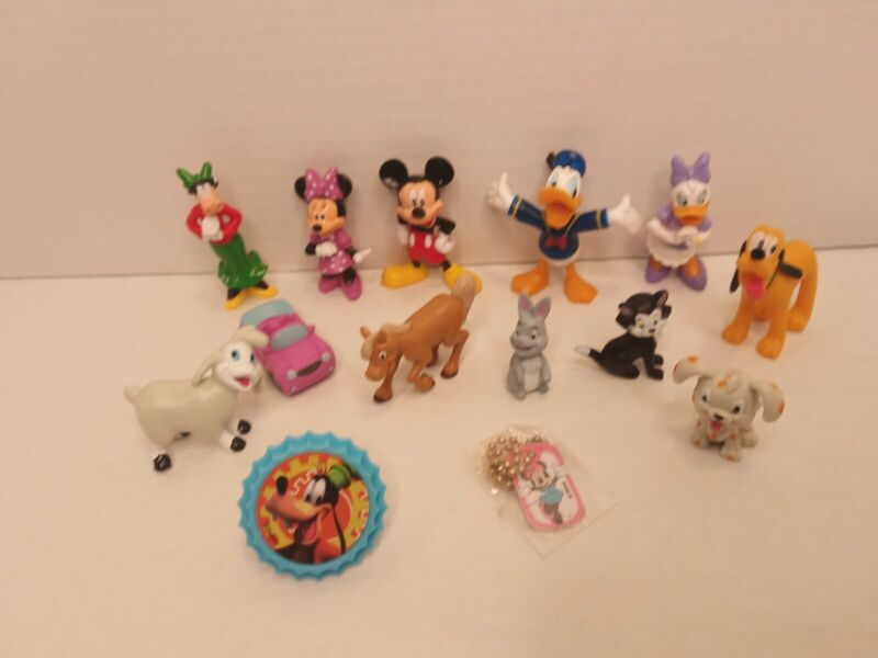 Minnie Mouse 12 Figure Set Mickey Clubhouse Disney PVC Toy Cake Topper Daisy