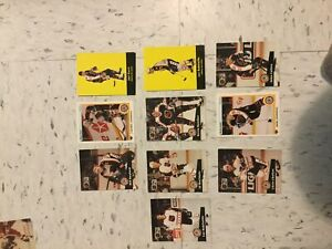 NHL Pro Set hockey cards 91's 92's