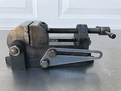 Vintage Craftsman Machinist Tilting Swivel Angle Vise Mill Drill Press 2-12 In.