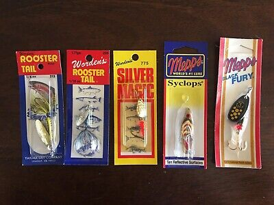 Mepps & Rooster Tail lures lot -